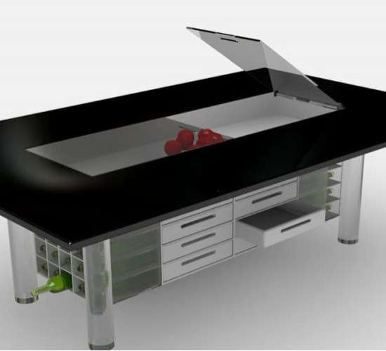 all in one dining tables ego is the perfect table of small kitchens