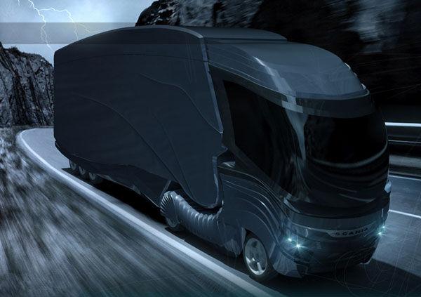 Trailblazing Futuristic Convoys