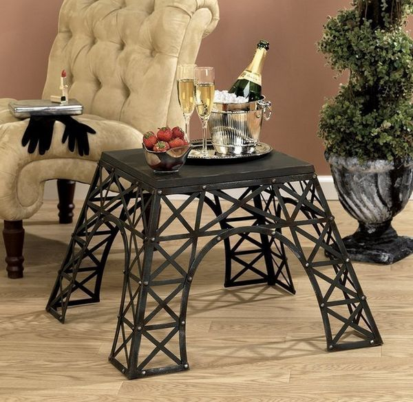 Romantic City-Inspired Tables