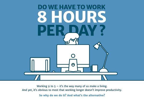 Work Schedule Infographics