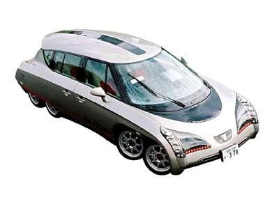 Eight Wheeled Electric Car
