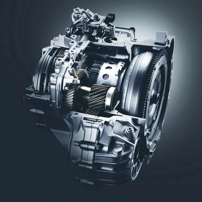 Compact Clutch-Containing Gearboxes