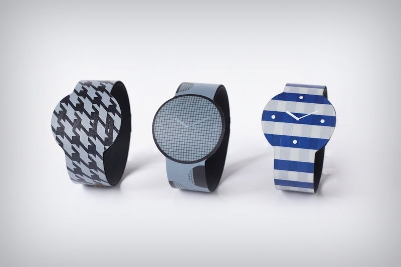 Wrap-Around Display Watches