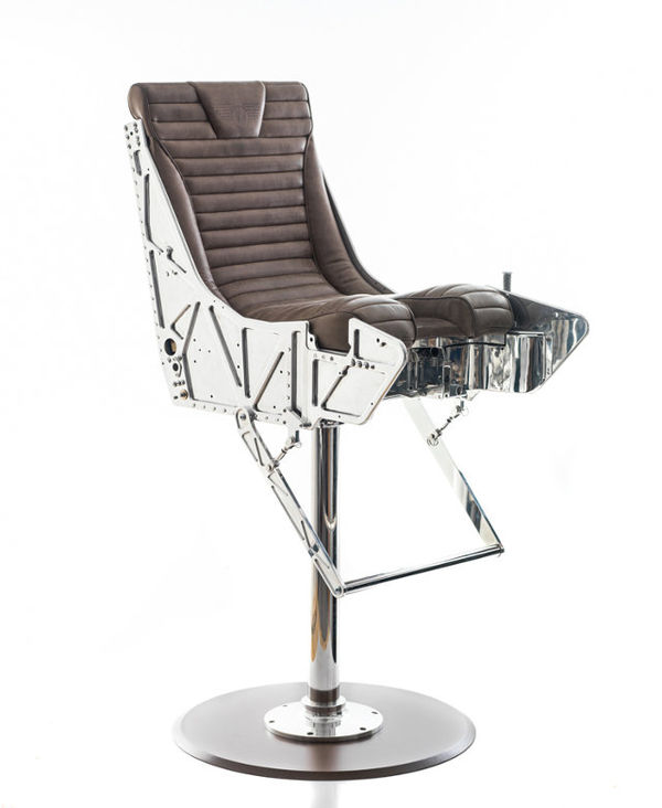Fighter Pilot Drinking Seats Ejector Seat Bar Stools