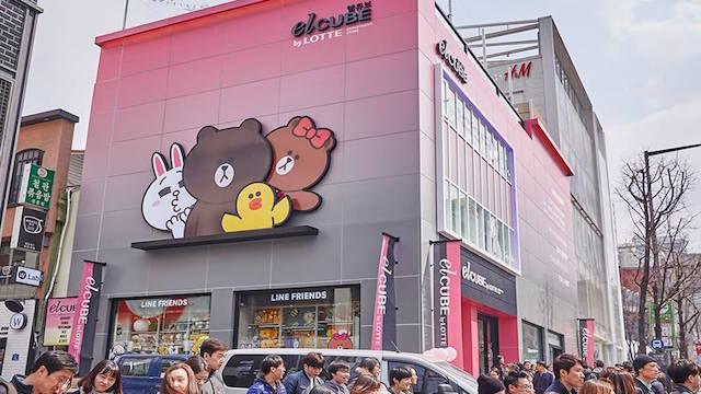 Compact Korean Shopping Malls