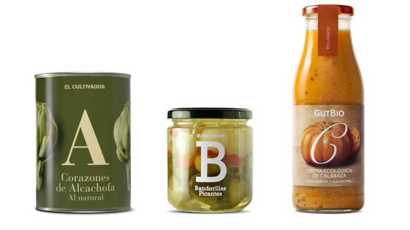 Alphabetical Preserve Packaging