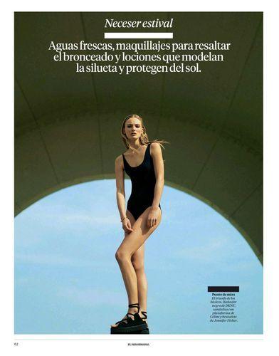 Exceptionally Solitary Swimwear Editorials