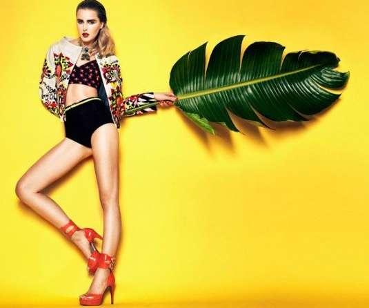 Tropical Technicolor Photoshoots