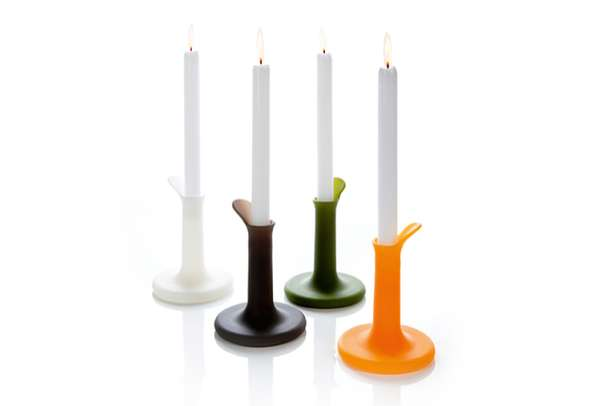 Dripping Wax Candlesticks