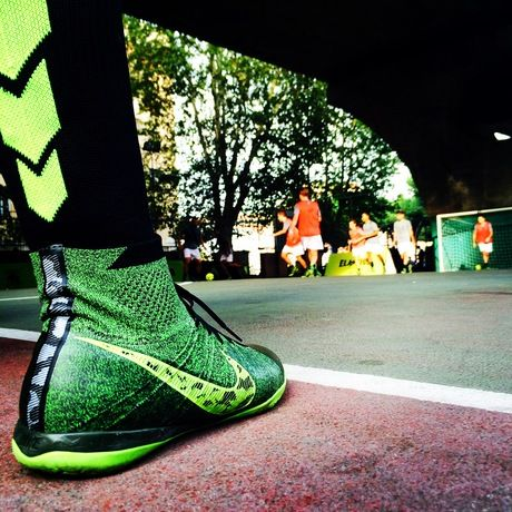 Elastic Soccer Boots