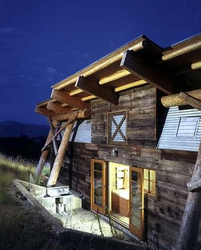 Lopsided Mountain Retreats