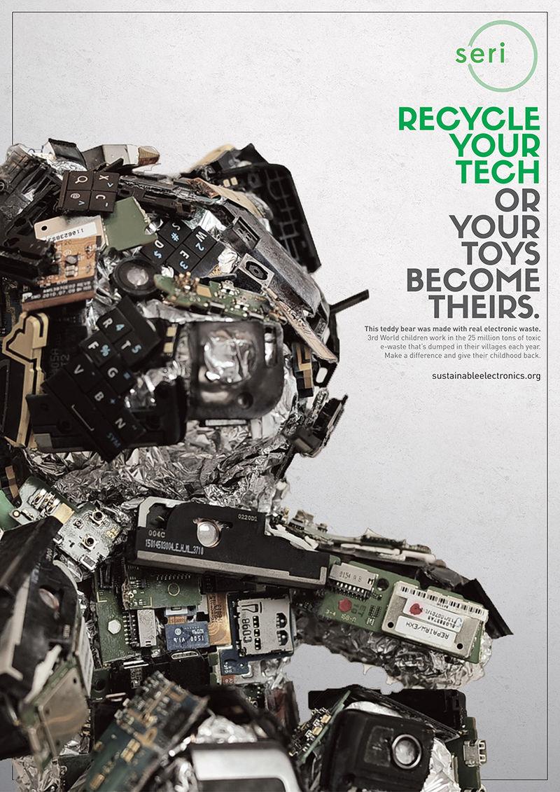 Electronic Waste Toys