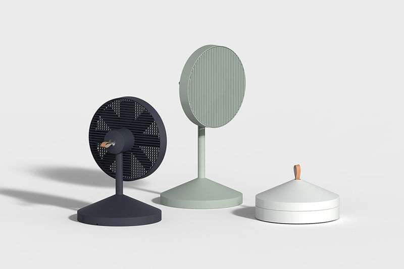 Collapsible Designer Fans