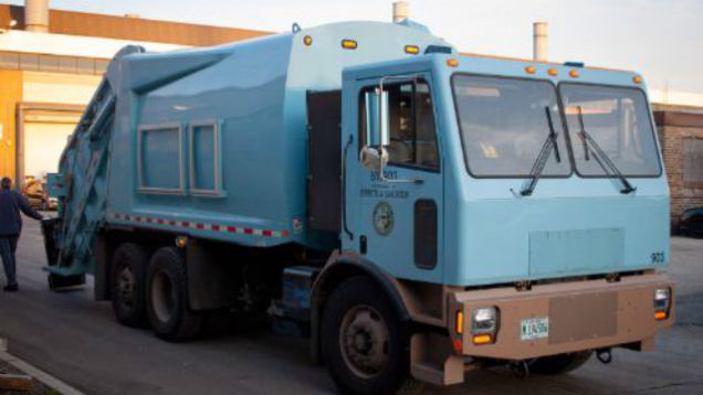 Entirely Electrical Trash Vehicles