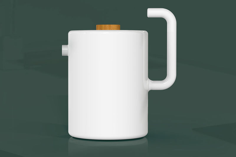 Electric Japanese Ceramic Kettles
