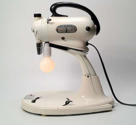 Electric Mixer Lamp