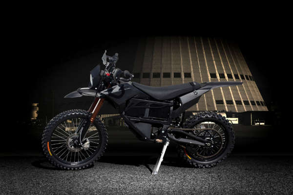 Entirely Electric Miltary Motorcycles