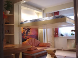 Electric Ceiling-Stocked Beds