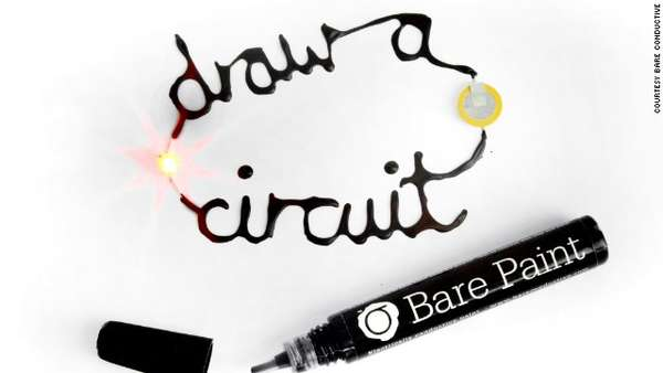 Conductive Electric Paint