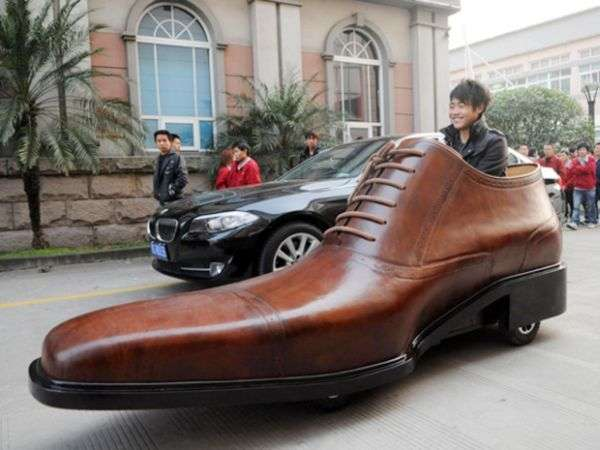 Electric Shoe Car