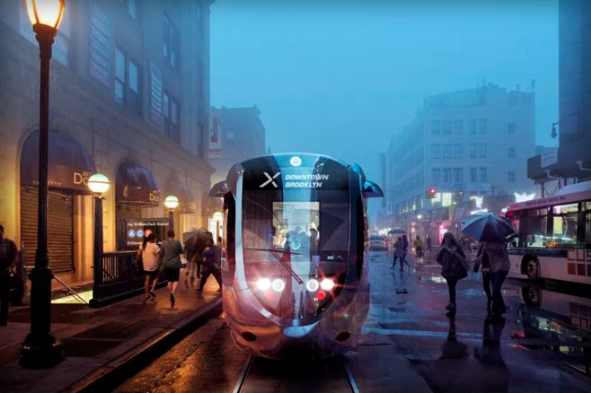 Urban Electric Streetcars
