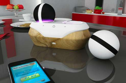Spherical Musical Dispensers