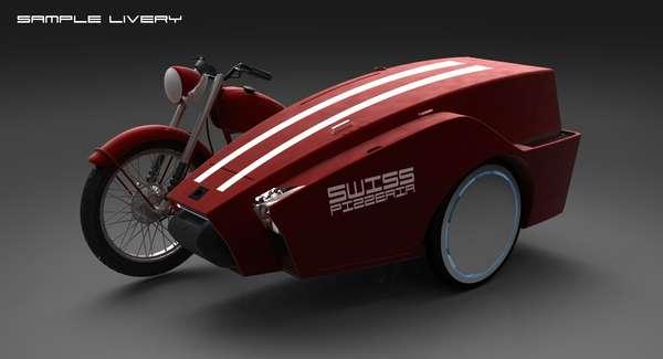 Mobile Motorbike Pizzerias