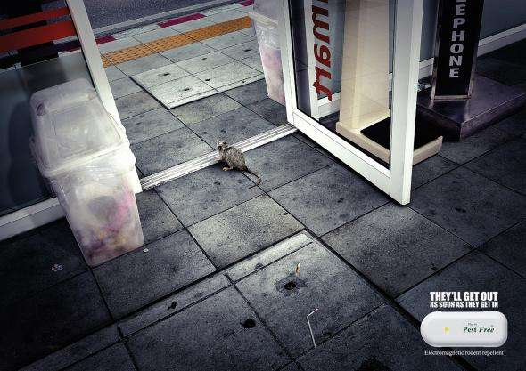 Humane Pest Prevention Ads