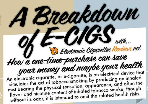 electronic cigarette infographic1