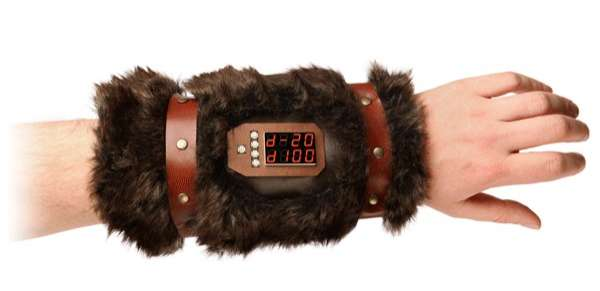 Furry Electronic Game Gauntlets