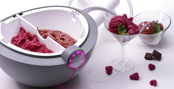 Futuristic Ice Cream Machines