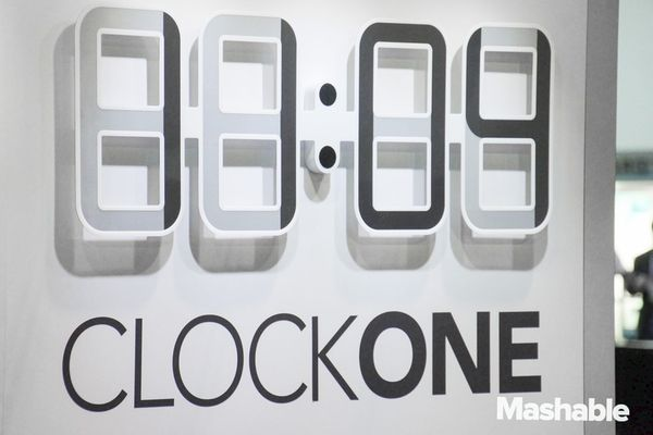 electronic ink clock