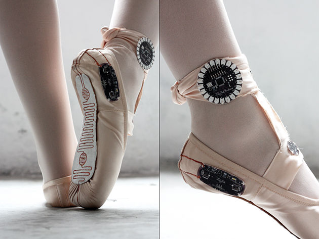 Tech-Powered Ballerina Shoes