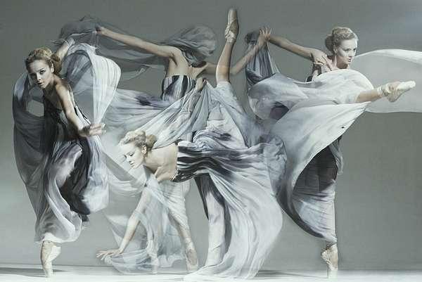 Elegant Ballet Fashionography
