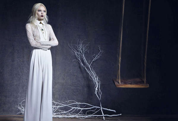 Hauntingly Ethereal Editorials