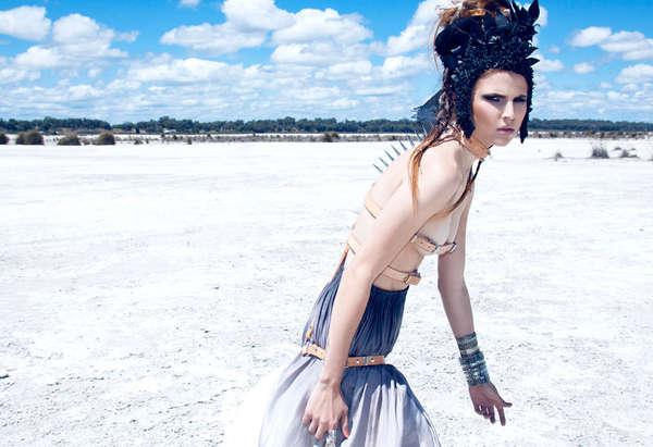 Futuristic Tribal Fashion