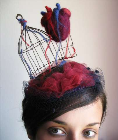 Heart-Inspired Headwear