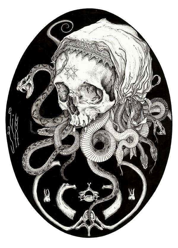 Morbid Tattoo-Inspired Artworks