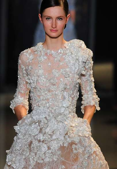 Bejeweled Translucent Couture