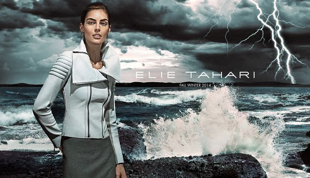 Storm-Ridden Fashion Campaigns