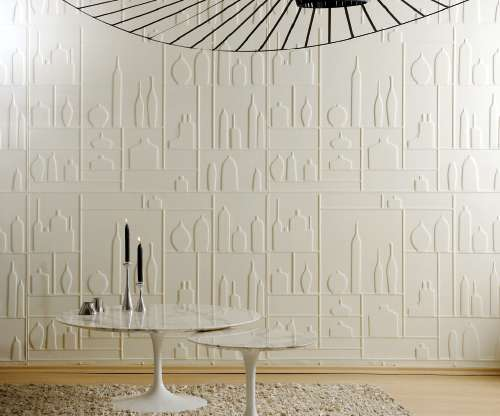 Thermoformed Decor Wallpaper