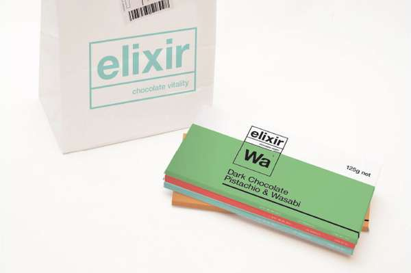 Elixir Chocolate Packaging