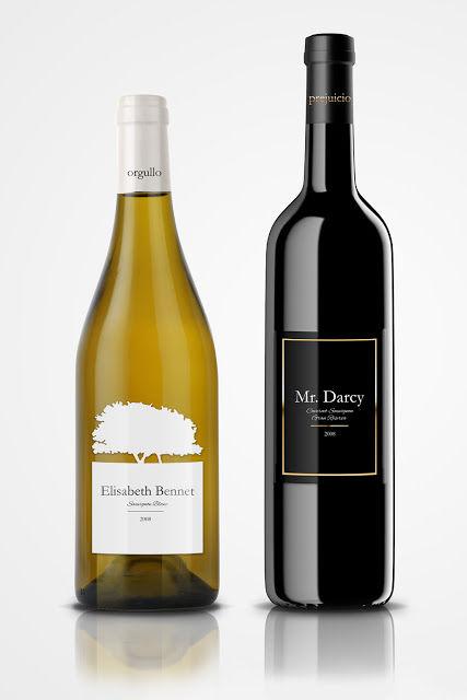 Romantic Literary Wines