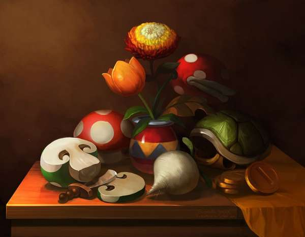 Classical Gamer Still Lifes