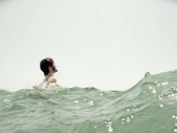 Daring Submerged Photography