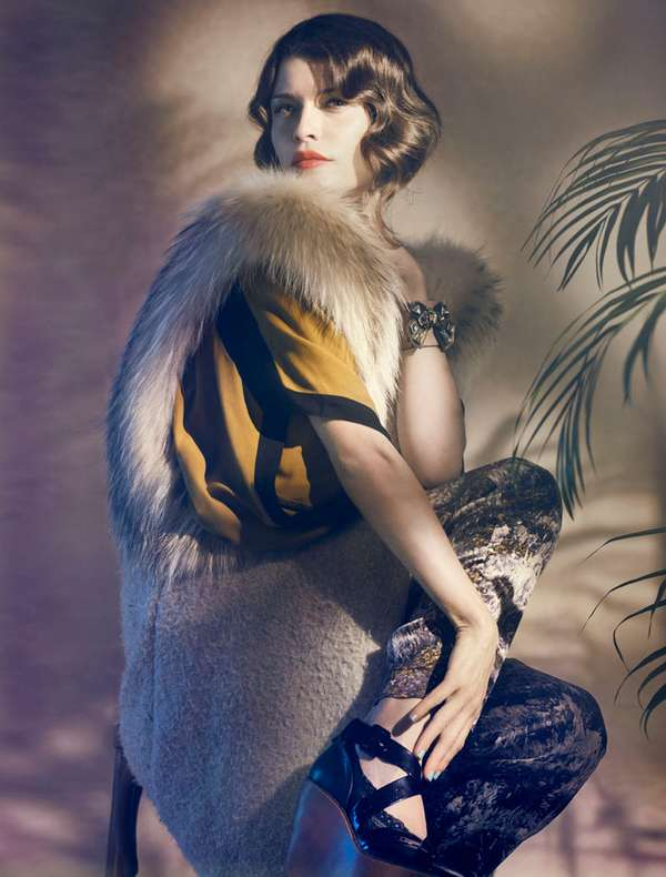 Hazy Art Deco Editorials
