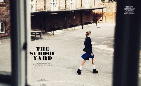 ELLE Denmark 'The School Yard'