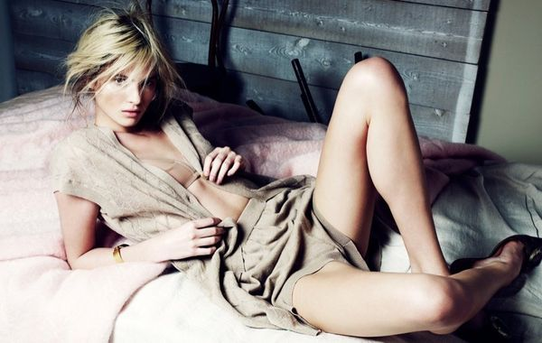 Lounging Nude-Toned Fashion