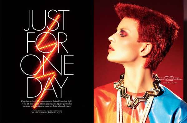 Elle Mexico 'Just for One Day'
