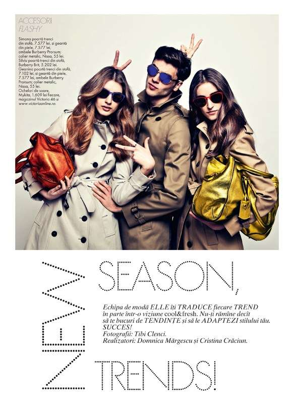ELLE Romania 'New Spring Trends'